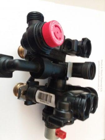 Hidroblokk váltószelep motorral bevizsgált