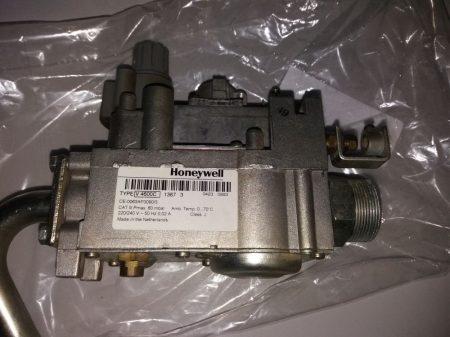HONEYWELL V4600 C gázszelep   őrlángos   használt