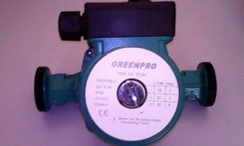 Greenpro 25/60 szivattyú csak gázkészülékbe