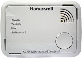 Honeywell tipusú szén-monoxid vészjelző készülék