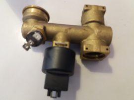 Felsőcsonk határoló termosztát jeladóval  bevizsgált