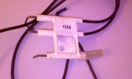Gyujtó és ionizációs elektróda    bevizsgált