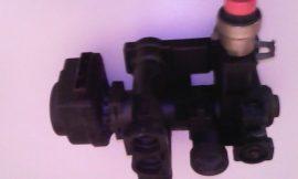 Hidroblokk, váltószelep motor és biztonsági szelep   használt