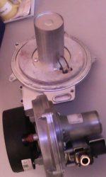 Ventillátor, égő és gázszelep egyben     használt