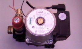 Szivattyú hidroblokkal, nyomáskapcsolóval és biztonsági szeleppel