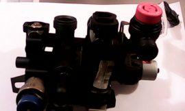 Hidroblokk váltószeleppel és biztonsági szeleppel    használt
