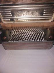 Vaillant plusszos HMV hőcserélő növelt teljesítményű