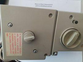 Elektronikus vezérlődoboz + vezérlőkártya  bevizsgátl