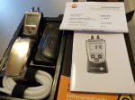 TESTO 510  gázszelep beállító nyomásmérő műszer