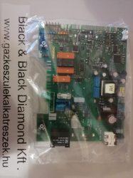 Vezérlőpanel Junkers Cerapur Comfort / Bosch Condens 7000WT belső transzformátorral (Bevizsgált)